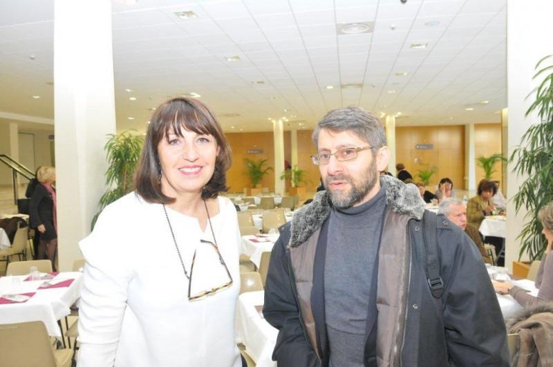 Michèle Teboul et Haim Korsia