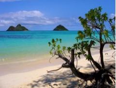 Lanikai Beach, Kailua, Hawaï