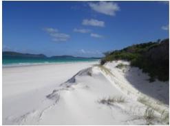 Whitehaven Beach, Whitsunday Island, Australie