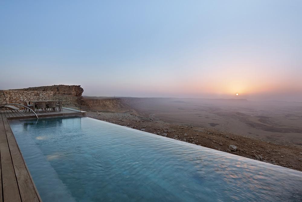 La piscine du Bereshit