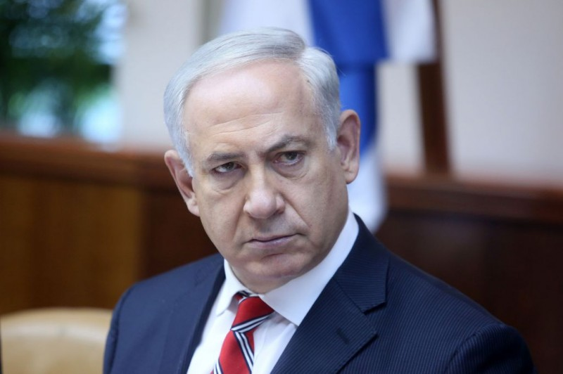 Benjamin Netanyahu le 16 Fevrier 2014 (photo credit: Marc Israel Sellem/POOL/Flash90)