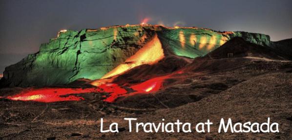 La Traviata à Masada