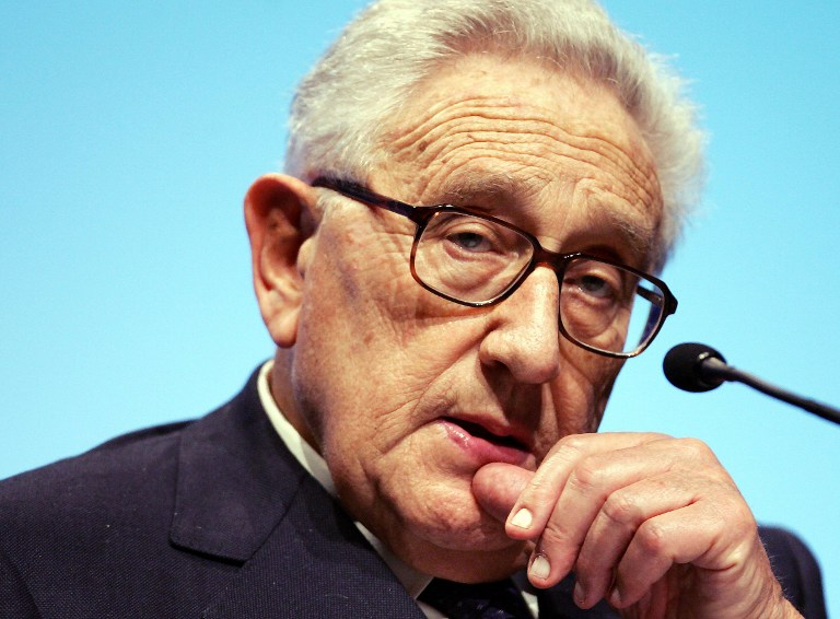 GERMANY-US-BUSINESS-FORUM-KISSINGER