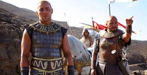 Le film de Ridley Scott, d'un budget de près de 140 millions de dollars (115 millions d'euros), a déjà été l'objet d'un certain nombre de critiques.   AP/Kerry Brown