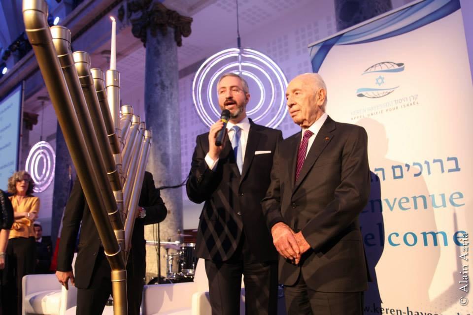 Shimon Perès au Keren Hayessod : 90 ans partout