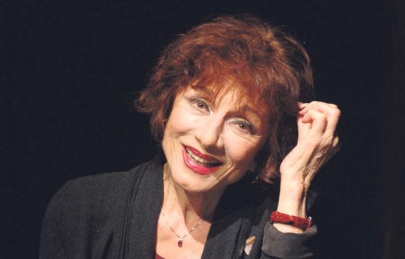 """10/10/2007. """"Une liaison pornographique"""" de Philippe Blasband avec Judith Magre et Jean-Claude Jay au Theatre Marigny."""
