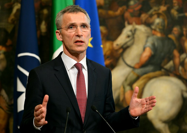 ITALY-NATO-POLITICS-STOLTENBERG