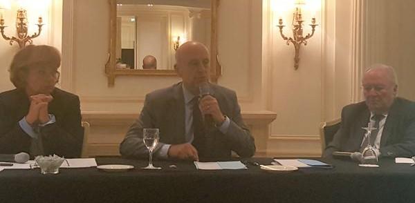Alain Juppé, invité du CRIF, crédit Twitter