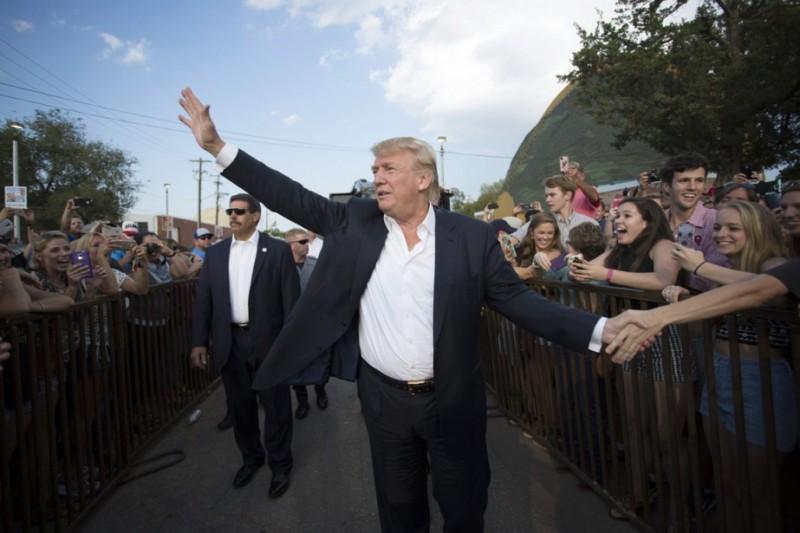 Donald Trump PHOTO J PAT CARTER, ARCHIVES AP