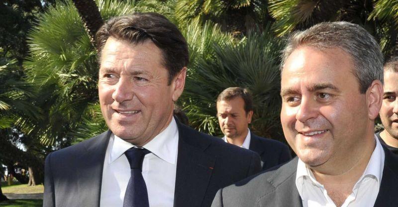 Christian Estrosi (PACA) et Xavier Bertrand (Nord-Pas-de-Calais-Picardie) mèneront les listes des Républicains dans les deux régions convoitées par le FN. © Sipa
