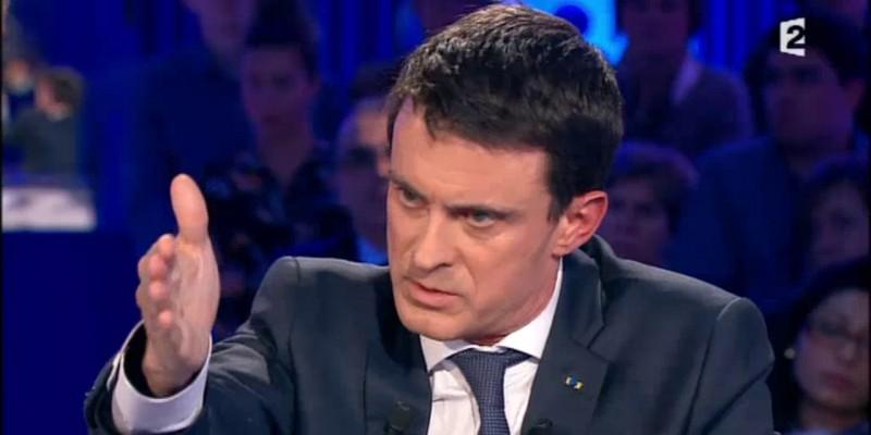 Manuel Valls © Capture d'écran France 2