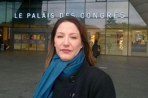 Laurence Marchand-Taillade sortie manu-militari du congrès de l'UOIF