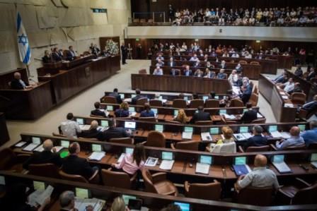 La Knesset – Crédit photo : Hadas Parush/Flash90
