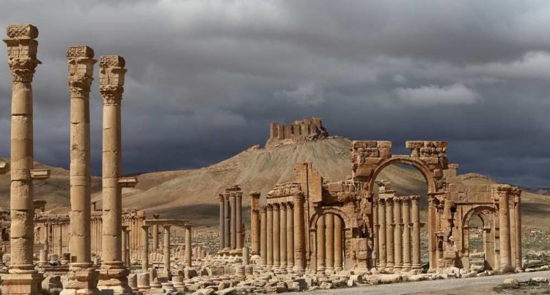 L'arc de triomphe détruit par Daech