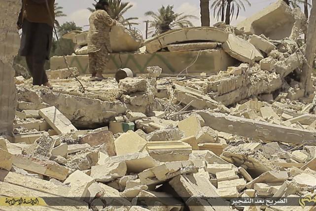 Palmyre saccagé