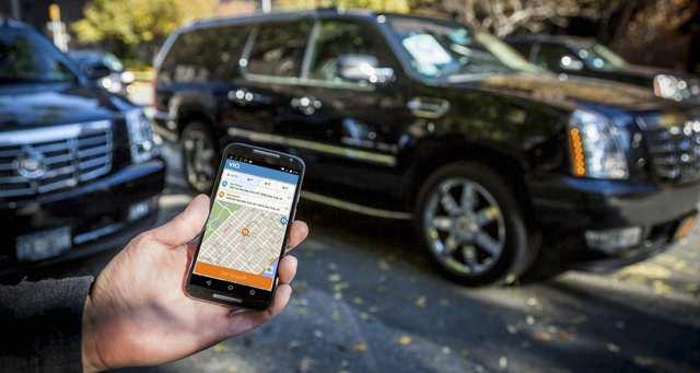 La solution Via est inspirée des taxis collectifs. L'algorithme permet de faire correspondre en temps réel les passagers aux places vacantes dans les voitures. - Photo Mark McQueen