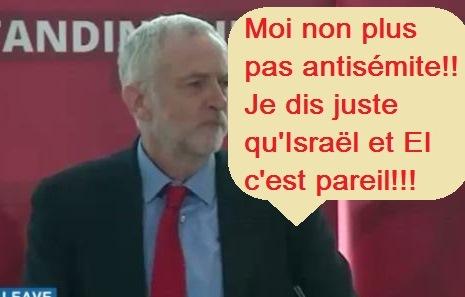 Corbyn dépasse toutes les bornes de l'antisémitisme