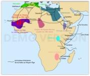 La traite arabe en Afrique, au Moyen Age