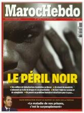 Une de Maroc Hebdo, 2 novembre 2012 : «colère des internautes » (RFI Afrique).