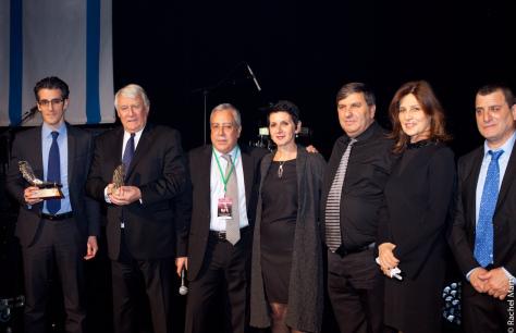 En présence de son Excellence l'Ambassadrice d'Israël en France, Madame Aliza Bin-Noun, du Président du KKL France, Robert Zbili, du Président du KKL, Danny Atar et de mon adjoint Jérémy Redler