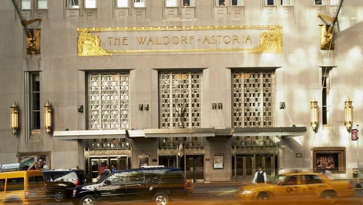 Le Waldorf Astoria ferme ses portes pour une rénovation