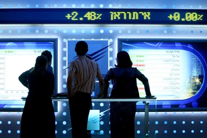 Boom à la bourse de Tel Aviv : le marché actions a bondi de 40% l'an dernier