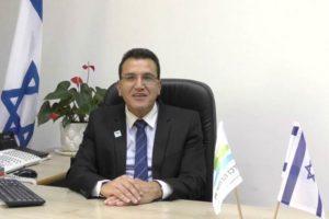 Dr. Salman Zarka, director-general of Ziv Medical Center. Photo via YouTube