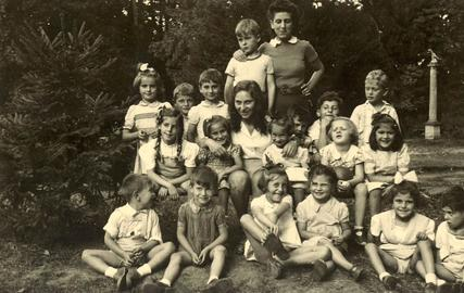 Entre 1946 et 1964, plus de 1000 enfants juifs sont venus se requinquer dans cette demeure qui appartient aujourd'hui au Museum d'Histoire naturelle de Paris.