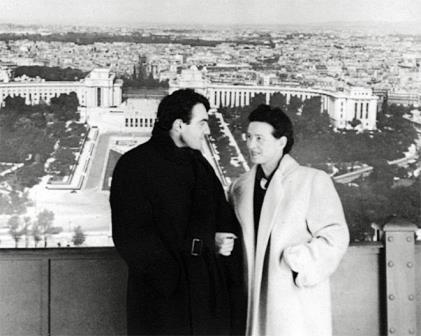 Claude Lanzmann vend les lettres d'amour de Simone de Beauvoir à l'université de Yale