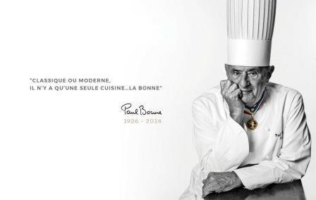 Les chefs pleurent dans leurs cuisines: réactions au décès de Paul Bocuse