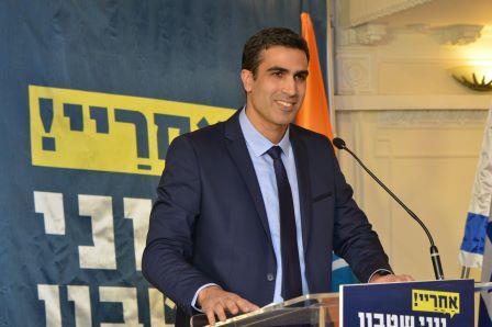 Yoni Chetboun a annoncé sa candidature au poste de maire de Netanya