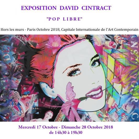 David Cintract vernissage mercredi 17 octobre