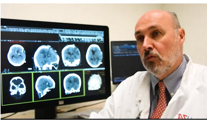 L'intelligence artificielle de AIDOC Israël à Anvers Hôpital Universitaire