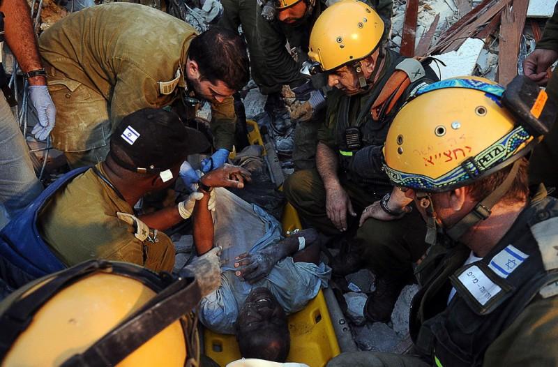 Mission de sauvetage de Tsahal en Haïti