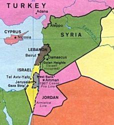 syrielibanisrael