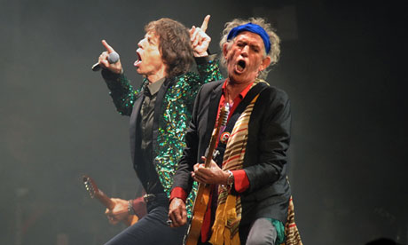 The Rolling Stones on the Pyramid stage