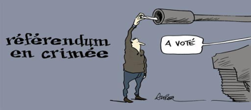 Dessin de Chappatte et Aurel (Cartoons Yahoo).