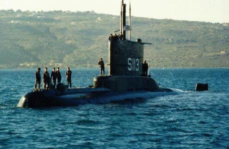 sous marin grecque