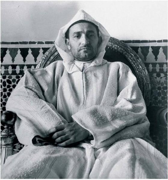 Le sultan Mohamed V
