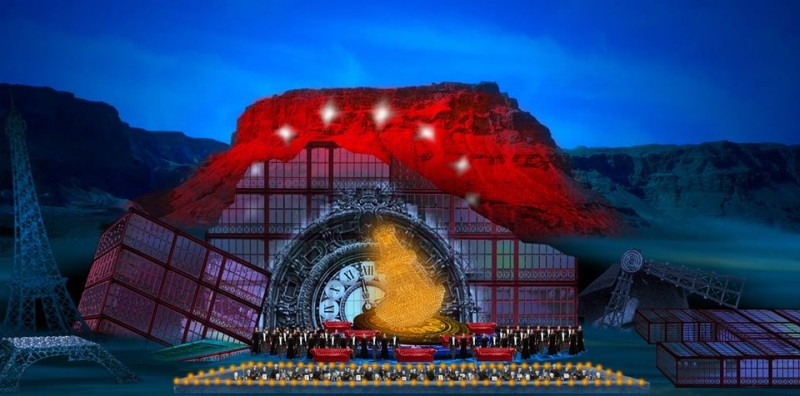 Opéra à Masada