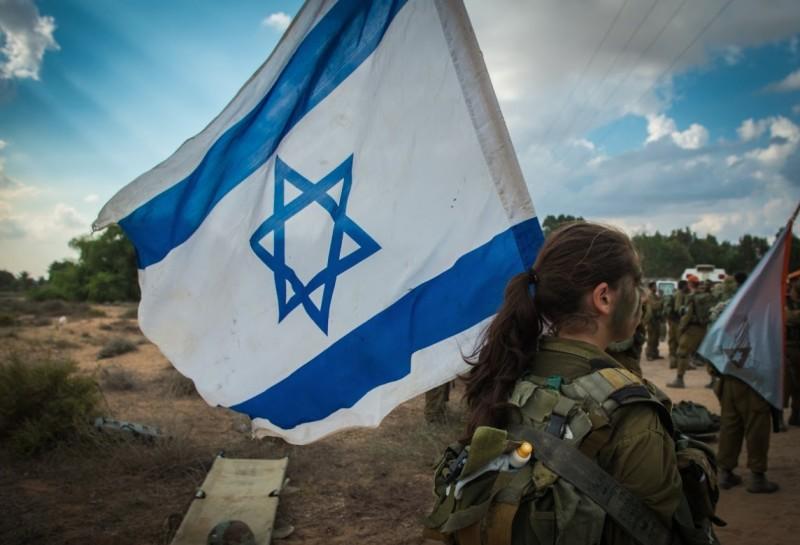 soldate drapeau