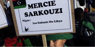 De la part des enfants libyens.