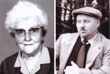 Marthe et Lucien Viot.