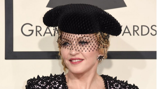 LOS ANGELES, CA - FEBRUARY 08: Singer Madonna attends The 57th Annual GRAMMY Awards at the STAPLES Center on February 8, 2015 in Los Angeles, California.   Jason Merritt/Getty Images/AFP