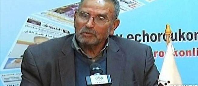 Mohamed Benalel Merah, le père de l'auteur des attentats de Toulouse et Montauban, a été interpellé en France et expulsé vers son pays, l'Algérie. © AFP PHOTO/ FRANCE 24