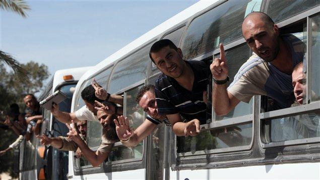 Liberation de terroristes en 2011