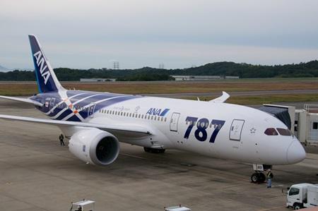 Boeing 787. Crédit Wikimedia
