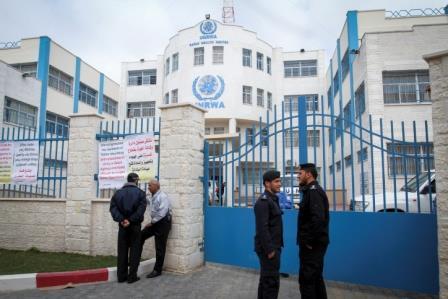 Un centre médical ouvert à Rafiah avec l'aide de l'UNRWA – Crédit photo : Abed Rahim Khatib/Flash90