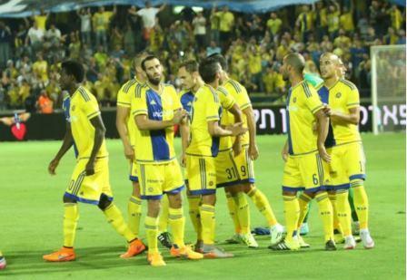 Les joueurs du Maccabi Tel-Aviv ont réussi l'exploit d'éliminer le Vikoria Plzen. Crédit photo: Maccabi Tel Aviv