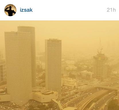 Tel Aviv hier, crédit Instagram